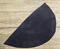 Замша натуральная для рукоделия Синяя бледная 37*20см, №066, фото 1
