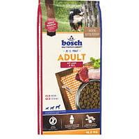 Bosch Adult Lamb 15кг  Корм для взрослых собак Бош Эдалт Ягненок с Рисом