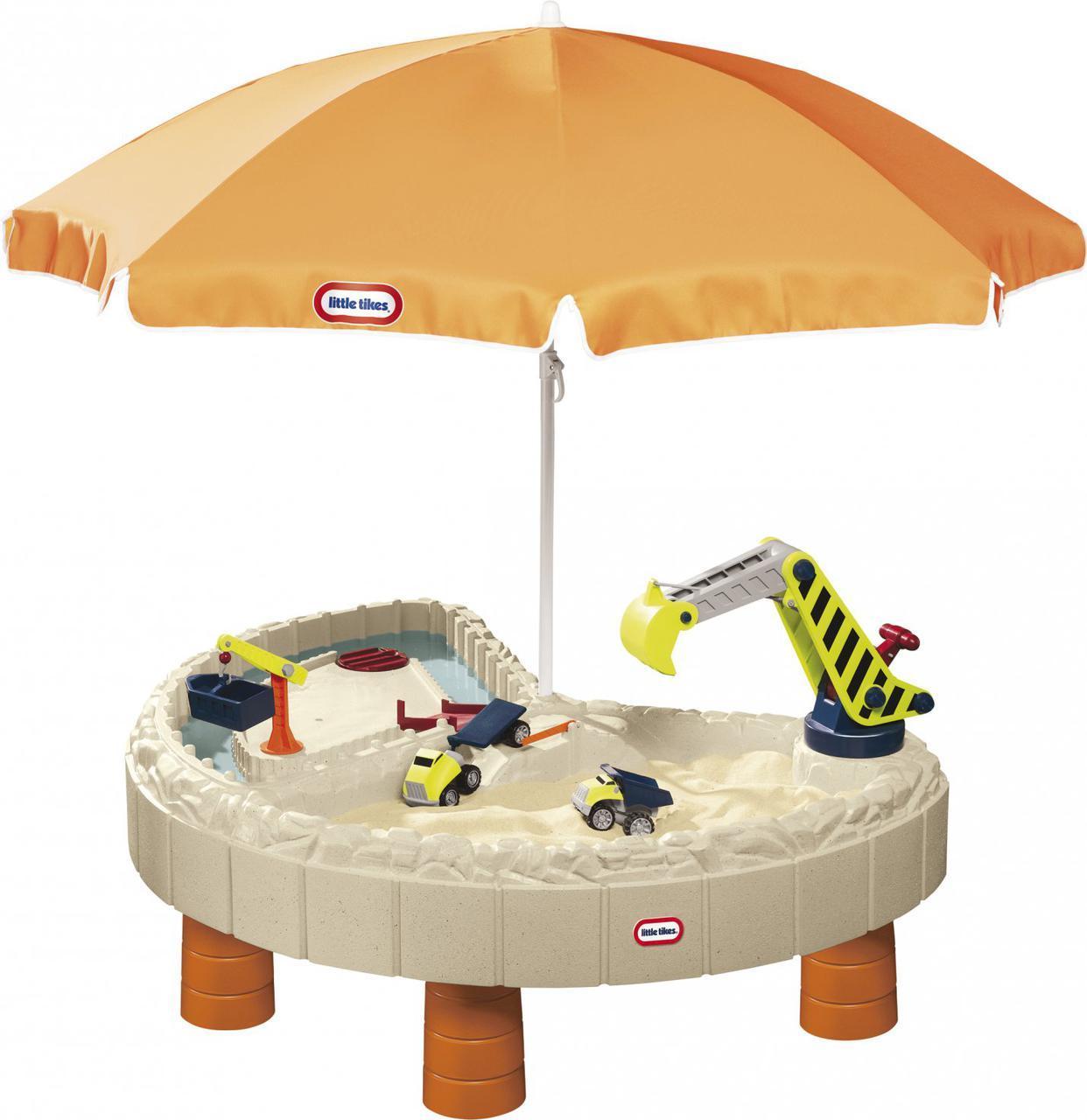 Детская песочница стол Веселая стройка Little Tikes 401N10060