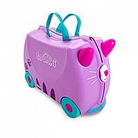 Дитячий валізу Trunki Кошеня Кейзи, TRU-0322+ наклейки