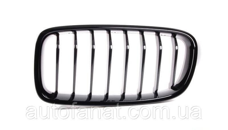 Оригинальная решетка радиатора черная правая M Performance BMW 3 (F30, F31, F35, F35 LCI) (51712240778)