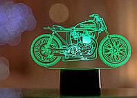 "3D светильник ""Мотоцикл 10"" 3DTOYSLAMP"