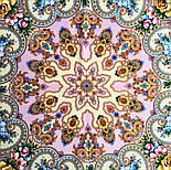 Домашний очаг 1829-2, павлопосадский платок шерстяной  с шелковой бахромой, фото 5