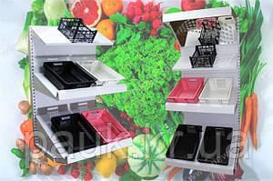 Торговый овощной стеллаж