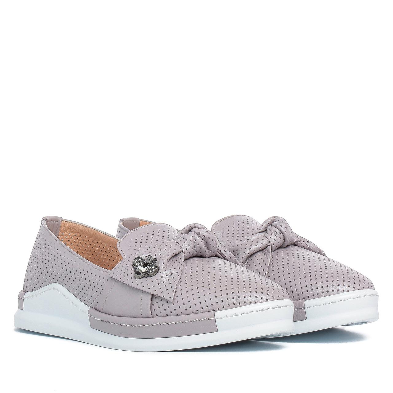 Туфли женские EVROMODA (натуральные, нежный оттенок, модные, летние)