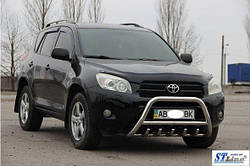 Кенгурятник WT003 (нерж) Toyota Rav 4 2006-2013 гг.