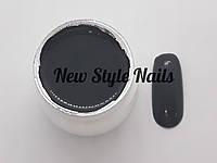 Гель-краска для ногтей UK.Nail №22 цвет черный ,7 грамм