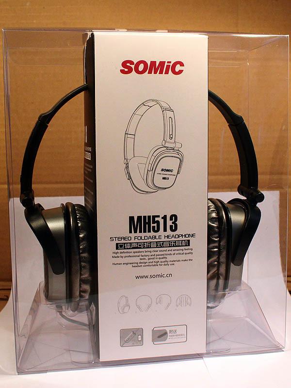 Наушники SOMIC MH513 Black