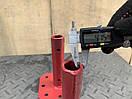 Полуось 23(24)/160мм (двусторонняя, фланец жигули/мотоблок) сварная, фото 4
