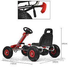 Педальная машинка Bambi КАРТ M 4037-3, фото 3