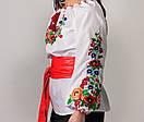 Купить вышиванку для девочки с длинным рукавом  Диана, фото 3