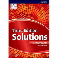 Solutions 3rd Edition Pre-Intermediate Student's Book + Workbook Ukraine