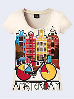 Женская футболка AMSTERDAM