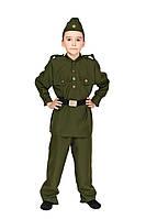 """Детский карнавальный костюм """"Военный-Солдат"""" для мальчика"""