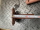 Піввісь 25/160мм (фланець-Жигуль/Мотоблок) двостороння Кругла!!, фото 6
