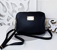 5c52afe72552 Женский клатч черного цвета с золотой фурнитурой Louis Vuitton (копия), из  структурной эко