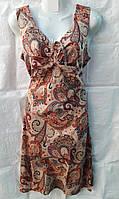 Халат-платье летний трикотажный Большого размера