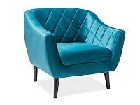 Кресло Molly 1 SIGNAL голубой