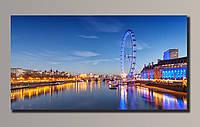 Фото картина на холсте Лондон 54*29 см.