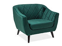 Кресло Molly 1 SIGNAL зеленый