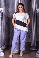 Женская модная футболка  НИ179 (бат), фото 1