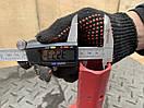 Піввісь 32/150мм (двостороння, фланець жигулі/мотоблок) зварна, фото 3