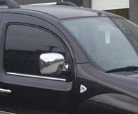 Хромированныемолдинги на стекла для Renault Dokker, Рено Доккер