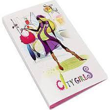 Альбом для слайдер дизайна City Girls на 120 ячеек