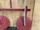 Окучник дисковый  420мм на двойной сцепке 800мм Булат, фото 3