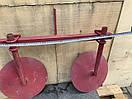 Окучник дисковый  420мм на двойной сцепке 800мм Булат, фото 4