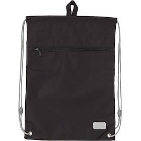 Сумка для обуви с карманом Kite Education Smart K19-601M-34 черная