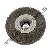Щетка дисковая из рифленой проволоки 200х32 мм, Ø 0,3