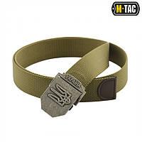 M-Tac ремень с Тризубом (тип 2) Olive