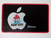 Антискользящий нано-коврик Большой. для iPhone, планшета, 12х20см. Качество!
