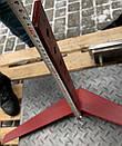 Плоскоріз-пропольник до мотоблоку 750мм (для суцільної обробки) Булат, фото 2