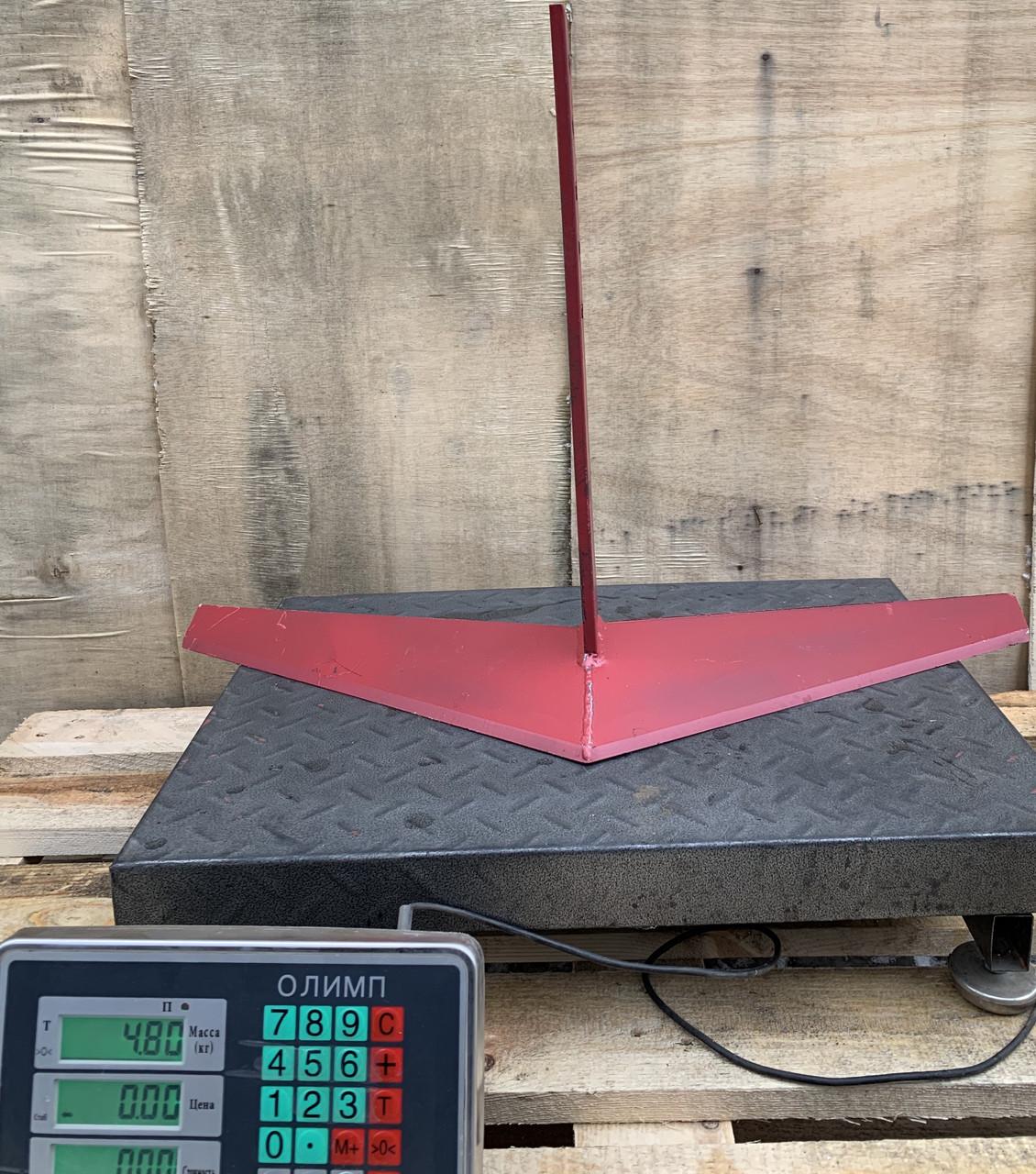 Плоскоріз-пропольник до мотоблоку 750мм (для суцільної обробки) Булат