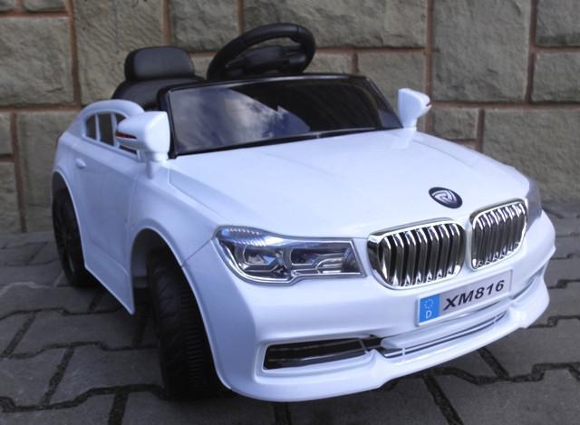 Электромобиль  Кабриолет B4+Eva колеса белый