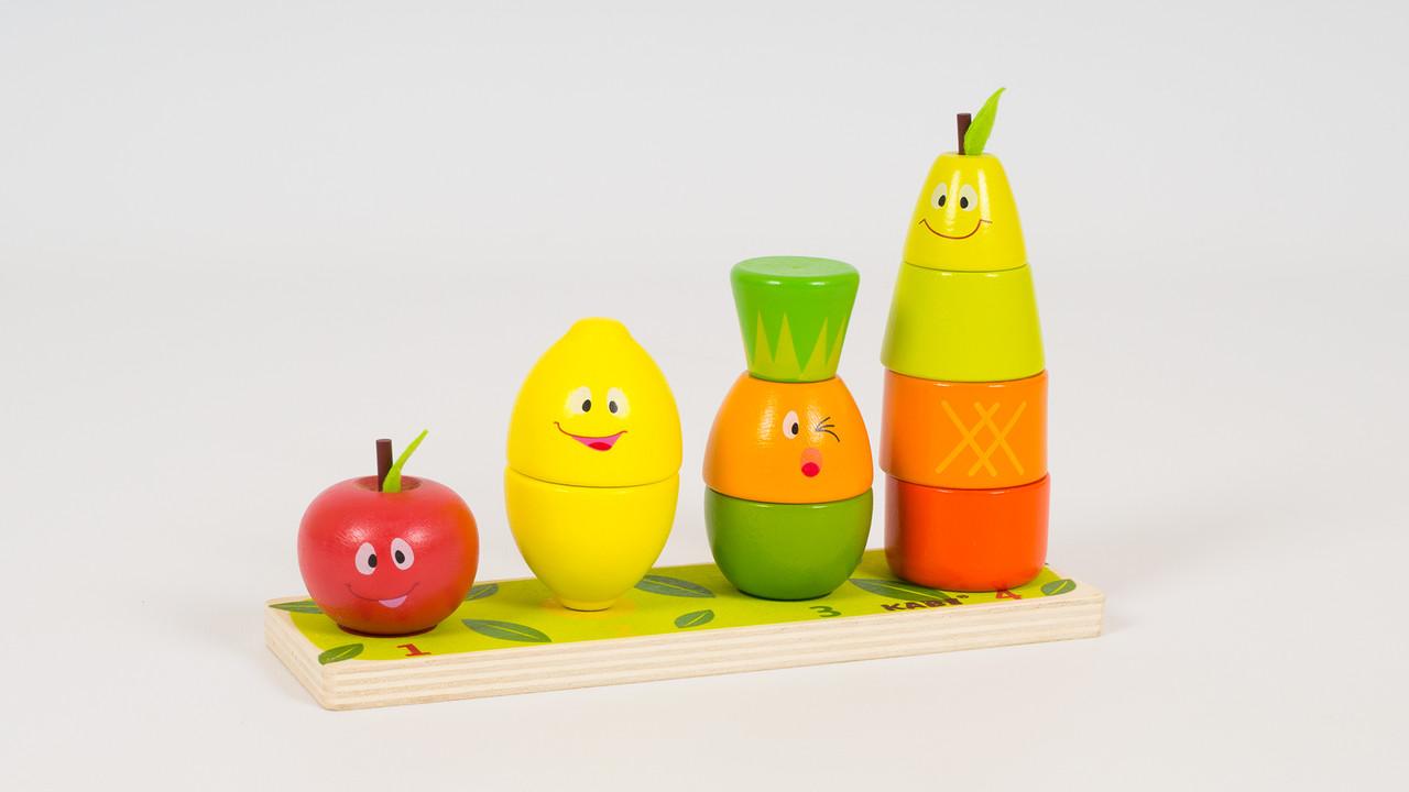 Деревянная игрушка - овощи