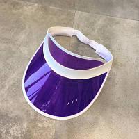 Пластиковый козырек фиолетового цвета