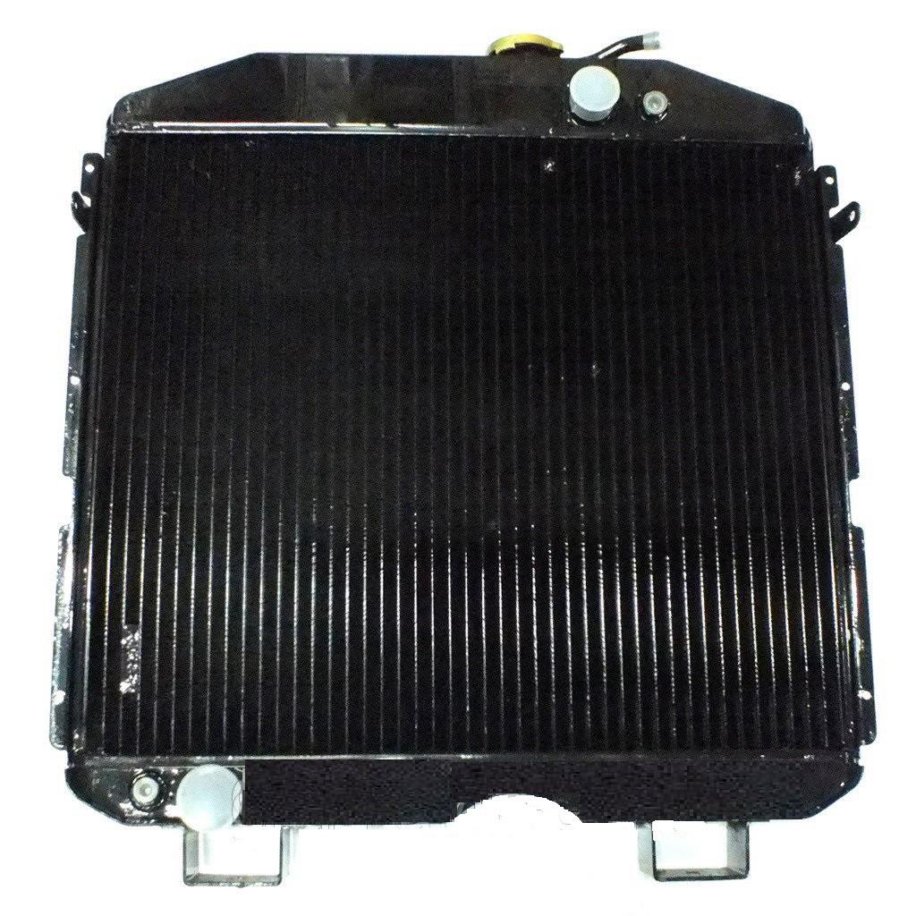 Радиатор вод. охлажд. ПАЗ 3205 (3-х рядн.) медн. , 3205-1301010-02С