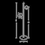 Спотовый светодиодный светильник (торшер) MAXUS MSL-01F 2x4W 4100K Белый, фото 4