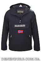 Куртка анорак мужская NAPAPIJRI N6413 тёмно-синяя
