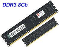 DDR3 8Gb (8Гб) оперативная память PC3-12800 1600MHz универсальная, для INTEL и AMD ДДР3 8 Гб KVR16N11/8 (ОЗУ)
