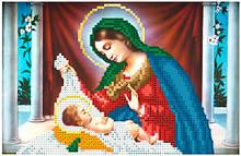 ЛК-36. Схема для вишивки бісером Марія з Ісусом