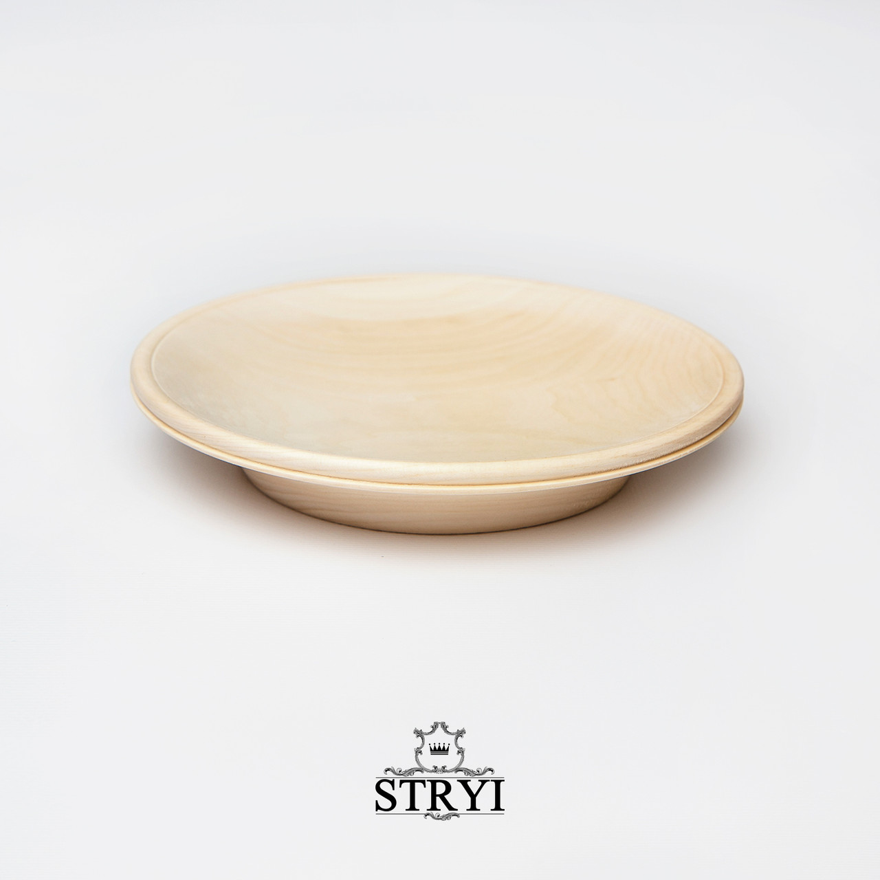 Тарелка, липовая заготовка для резьбы, 200 мм