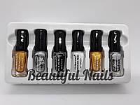 Набор лак-красок для стемпинга Bluesky STAMPING NAIL POLISH, 6 разных цветов, фото 1
