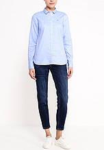 Женская рубашка Tommy Hilfiger классическая голубая