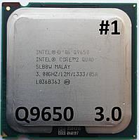 Процессор ЛОТ  #1 Intel® Core™2 Quad Q9650 SLB8W 3.0GHz 12M Cache 1333 MHz FSB Soket 775 Б/У, фото 1