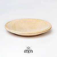 Тарелка для резьбы, заготовка, липа 240 мм, фото 1