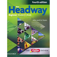 New Headway 4th Edition Beginner: Student's Book with iTutor DVD-ROM (учебник ) + Workbook with Key and iCheck